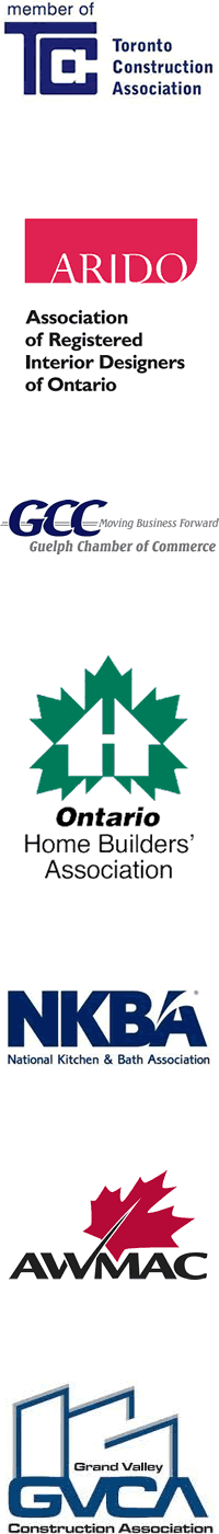 Member of Toronto Construction Association, Guelph Chamber of Commerce, Ontario Home Builders Association and others